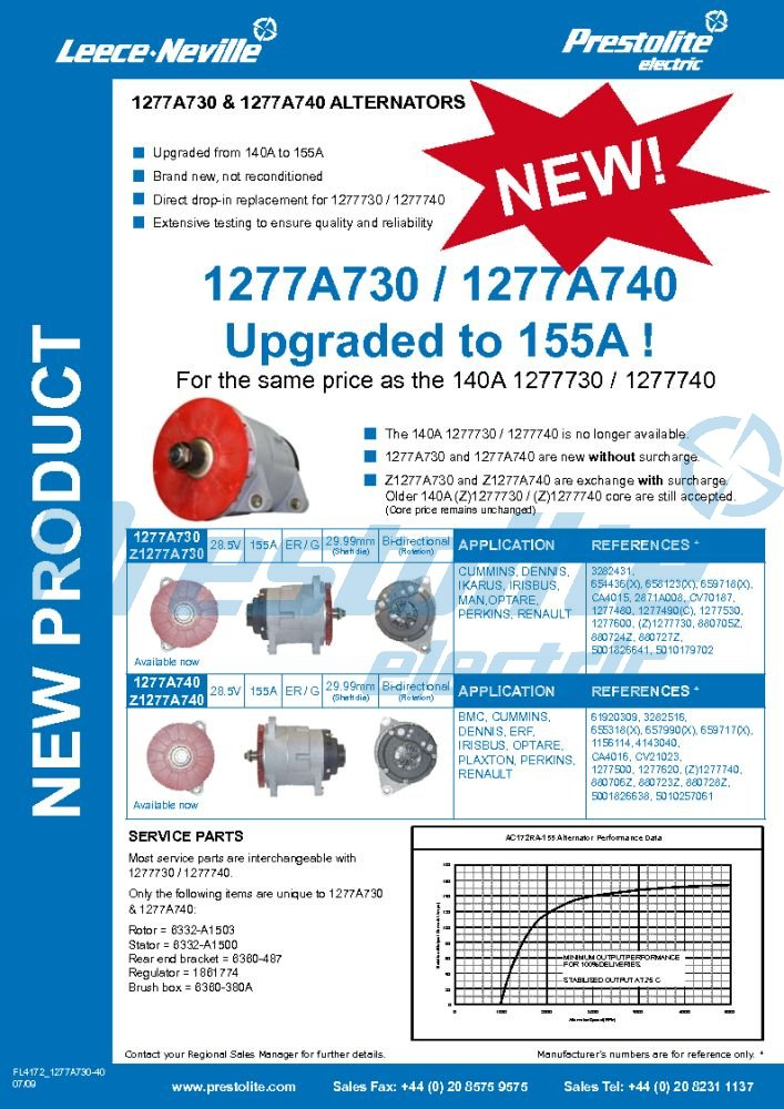 1277A730 / A740 product info