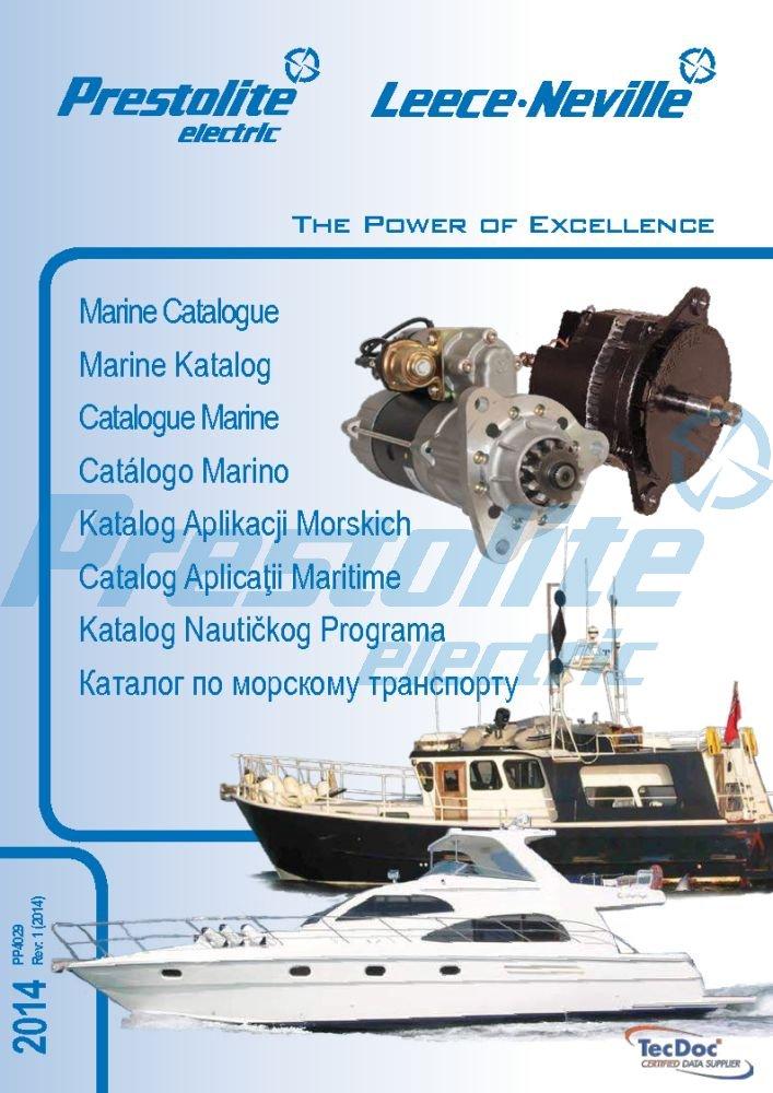 PP4029: Marine Catalogue (2014)