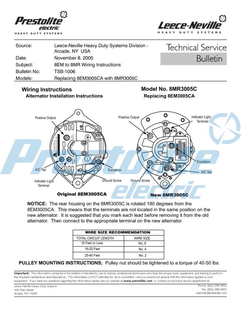 8EM3005CA replacement