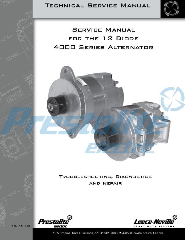 4000 Series maintenance manual