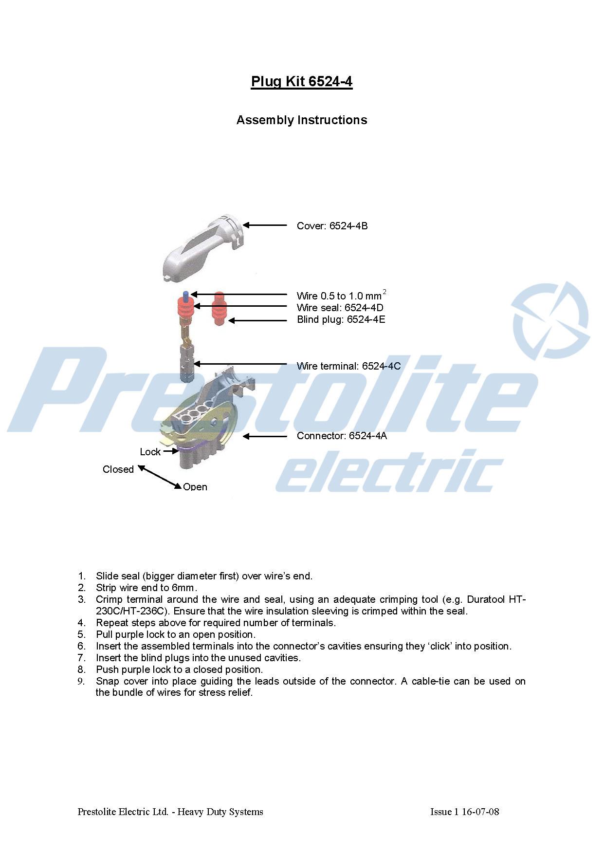 Plug Kit 6524-4